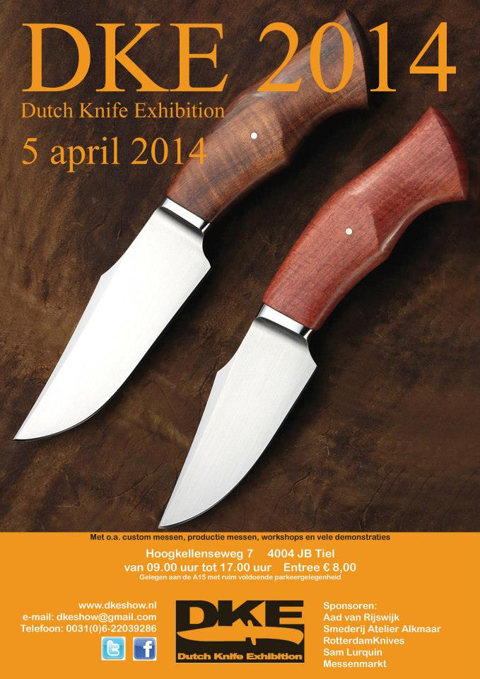 Dutch Knife Exhibition 2014