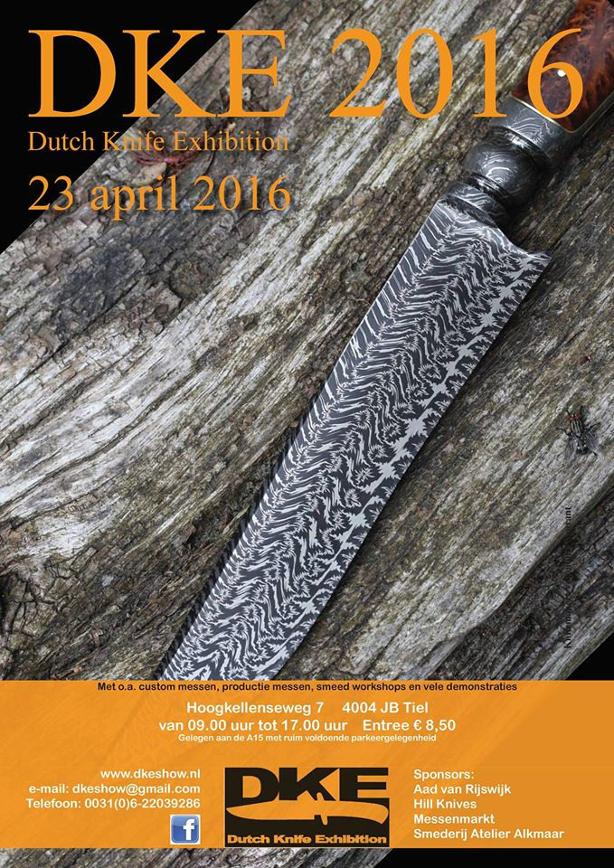 Dutch Knife Exhibition 2016