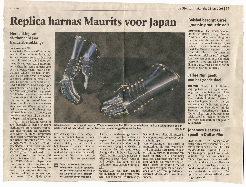 Harnas persbericht regio Amsterdam